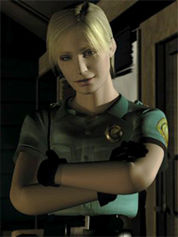 Cybil (Silent Hill), arms crossed